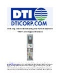 DtiCorp.com Is Introducing The New Honeywell VFD Core Bypass Products