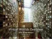 DTIC Virtual World Recommendations