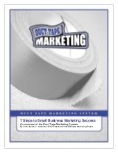 Duct Tape Marketing System