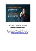 Du developpement personnel au leadership personnel   extrait gratuit 18 p
