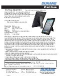 Dukane ipad case with screen cover 185 1 sp