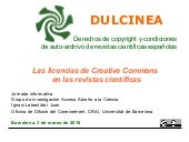 Las licencias de Creative Commons e...