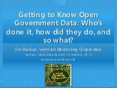 Getting to Know Open Government Dat...