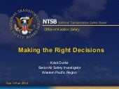 NTSB presents: Making the Right Dec...