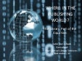 Where in the publishing world are libraries?