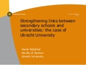 Strengthening links between seconda...
