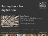 Raising Funds for Digitisation