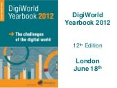 Presentation of the DigiWorld Yearb...