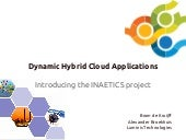 Dynamic Hybrid Cloud Applications