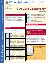 Dzone core java concurrency -_