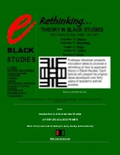 e-Black Studies: Introduction to Af...