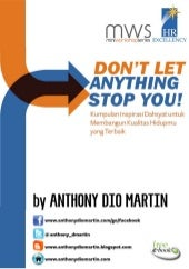 Ebook gratis DON'T LET ANYTHING STO...