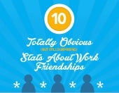 10 Totally Obvious (But Still Surprising) Stats about Work Friendships