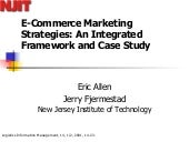 E Commerce Marketing Strategies