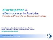 eDemocracy & Web 2.0