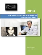 E health stratigies & development i...