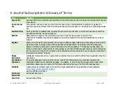 E-Journals Glossary of Terms