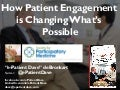 Patient Engagement is Changing What's Possible (e-Patient Dave at Intersystems global summit 2015)