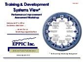T&D Systems View Assessment Workshop