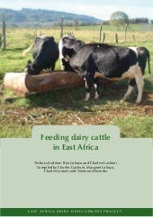 Eadd: Feeding Dairy Cattle in East ...