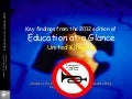 Key findings from the 2012 edition of  Education at a Glance - United Kingdom