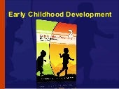 Early Childhood Development Module 2