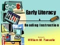 Early Literacy And Reading Course