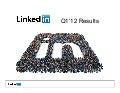 LinkedIn's Q1 2012 Earnings