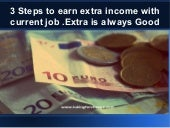 How to Earn EXTRA online money with blog for working professionals