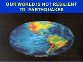 Earthquake disaster resilience disa...
