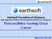 Earthsoft personalities of great ca...