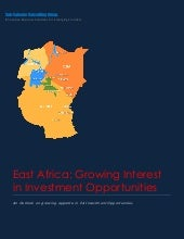 East Africa  Growing Interest in In...