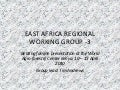 Tim Andrews East Agrica Regional Working Group  #BeatingFamine