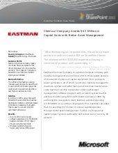 Eastman Chemical SharePoint 2010 Ca...