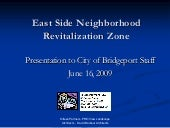 East Side Bridgeport Neighborhood R...