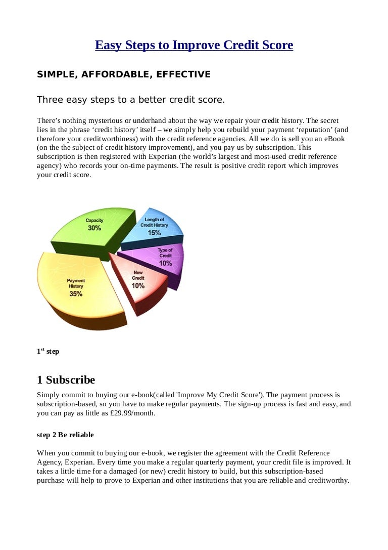 Easy Stepstoimprovecreditscoregraphic: 7 Steps To Build Credit Quickly  Corporate Direct Best Reward Credit