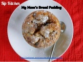 Easy Bread Pudding Recipe. An Old-Fashioned Dessert How-to