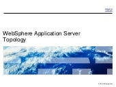 WebSphere Application Server Topology Options