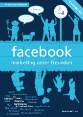 facebook - marketing unter freunden...