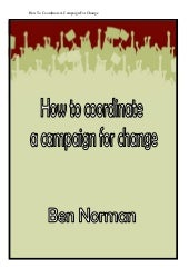 Eb28 084 how to coordinate a campaign
