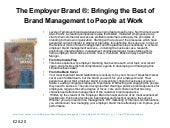 Employer Brand and Employee Engagem...