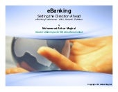 eBanking - Setting the Direction Ahead