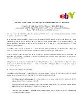 Ebay News 2005 7 20 Earnings