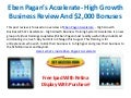 Eben pagan's Accelerate Review and $800 In Bonuses - No Junk No Joke - High Growth Business