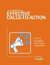 101 examples of EFFECTIVE CALLS TO ...