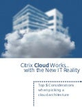 Top 5 considerations when picking a cloud architecture eBook