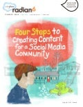 Four Steps to Creating Content for a Social Media Community eBook