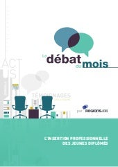 Ebook : l'insertion des jeunes dipl...