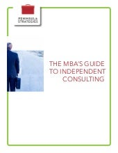 Ebook: The MBA's Guide to Independe...