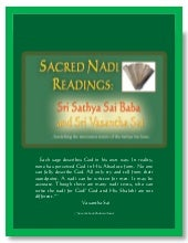 Sacred Nadi Readings - Sri Sathya S...